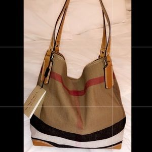 New Authentic Burberry Bag